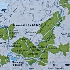 Apelacja Terrasses du Larzac. © Revue du Vin de France.