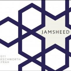 Jamsheed Beechworth Syrah – etykieta