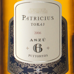 Patrícius Tokaji Aszu 6P 2006