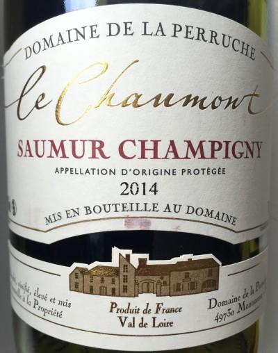 Domaine de la Perruche Saumur-Champigny Le Chaumont 2014