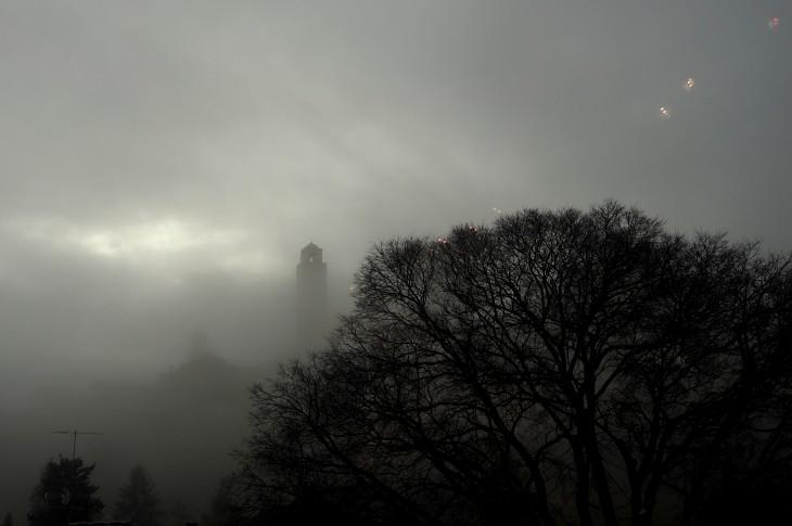 Vernaccia we mgle. © Izabela Kamińska.