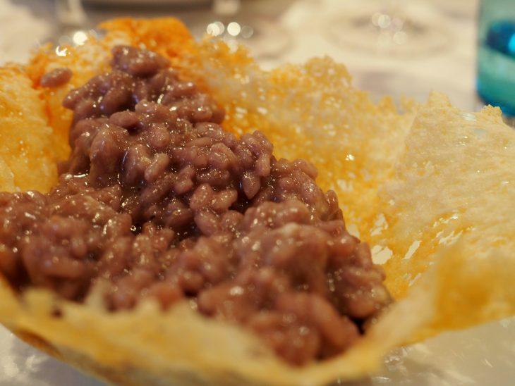 Niezapomniane risotto all`amarone! ©Izabela Kamińska