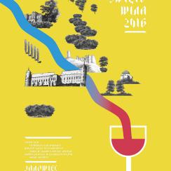Święto Wina Janowiec 2016 plakat duży