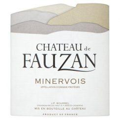 Château de Fauzan Minervois 2013 label