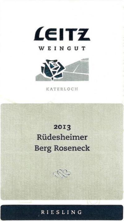 Leitz Berg Roseneck Riesling