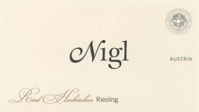 Nigl Rieslinfg Ried Hochacker