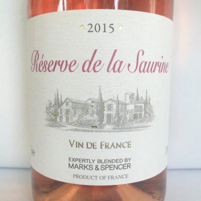 Alliance Rhône vin de France Réserve de la Saurine