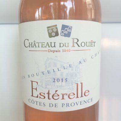 Chateau du Rouët Côtes de Provence Estérelle Rosé