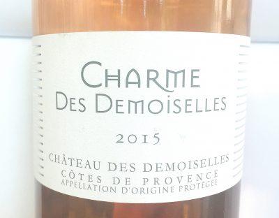 Châteu des Demoiselles Côtes de Provence Charme des Demoiselles Rosé