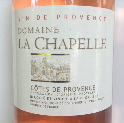 Domaine La Chapelle Côtes de Provence Rosé