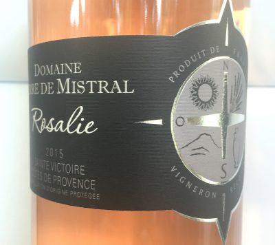 Domaine Terre de Mistral Côtes de Provence Sainte-Victoire Rosalie