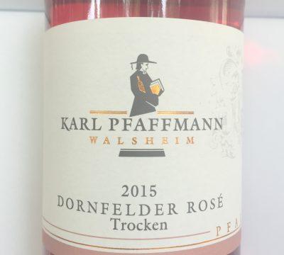 Karl Pfaffmann Pfalz Dornfelder Rosé