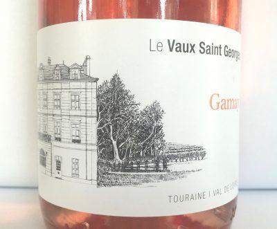 Le Vaux Saint-Georges Touraine Gamay Rosé