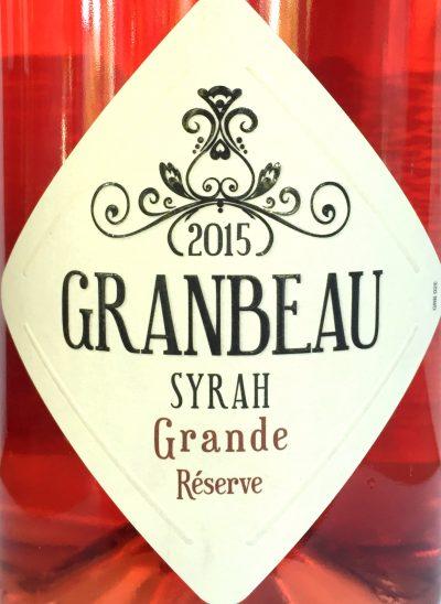 Les Producteurs Réunis Pays d'Oc Granbeau Syrah Rosé