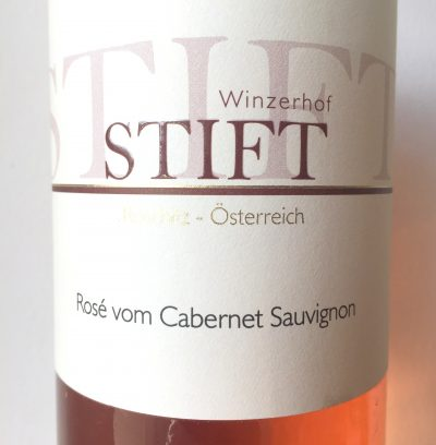 Stift Niederösterreich Rosé vom Cabernet Sauvignon