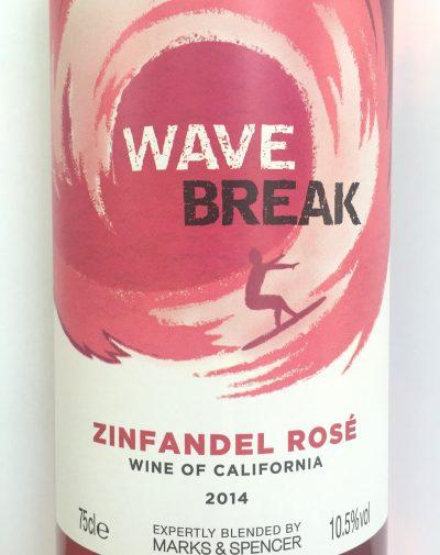 W1226 UK California Wave Brak Zinfandel Rosé