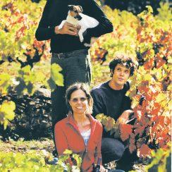Diego Soto, Núria Dalmau, ich latorośl i winorośl.© Mas Estela.