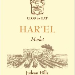 Clos de Gat Harel_Merlot_2010