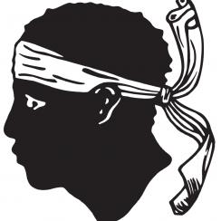Symbol Korsyki – głowa Maura.