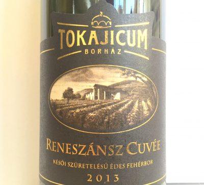 Tokajicum Tokaji Reneszánsz Cuvée 2013