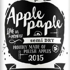 Apple Paple Semi Dry 2015