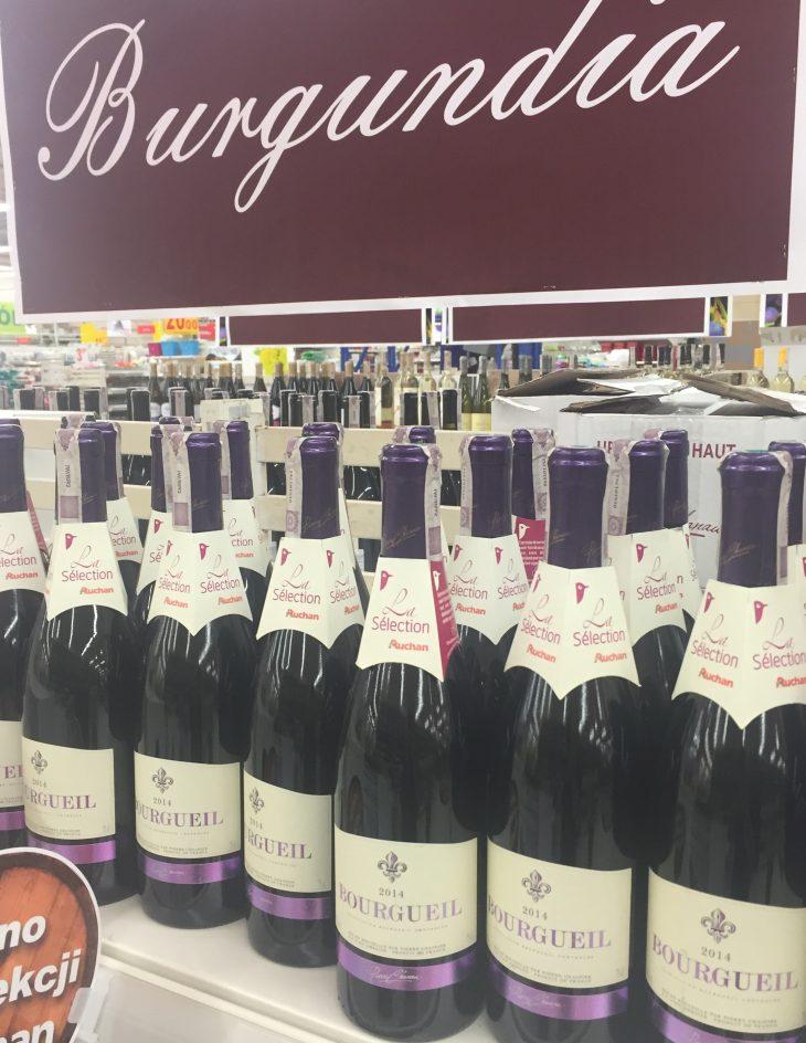 Auchan Festiwal Wina 2016 Bourgueil Burgundia