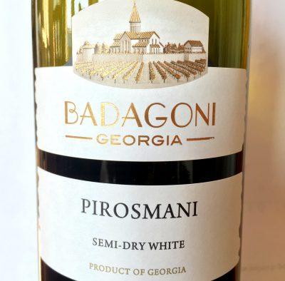 Badagoni Pirosmani białe półwytrawne 2014
