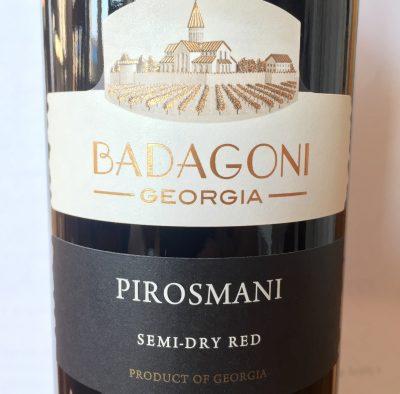 Badagoni Pirosmani czerwone półwytrawne 2014
