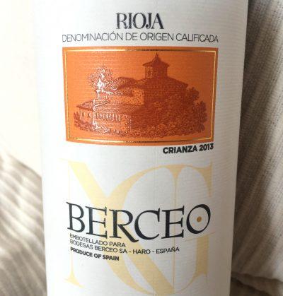 Berceo Rioja Crianza 2013