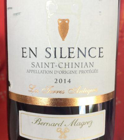 Bernard Magrez Saint-Chinian En Silence 2014