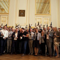 Zjednoczeni w winie. ©Izabela Kamińska