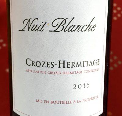 Cave de Tain Crozes-Hermitage Rouge Nuit Blanche 2015