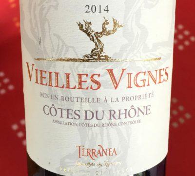 Cave des Vignerons de Sablet Côtes du Rhône Rouge Vieilles Vignes 2014