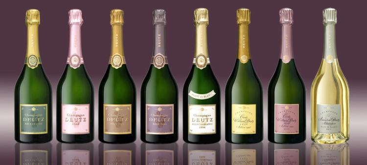 Pełna gama szampanów Deutz.