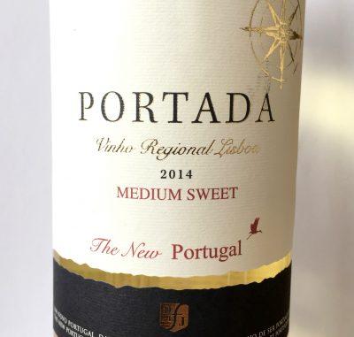 DFJ Vinhos Lisboa Portada White Medium Sweet 2014