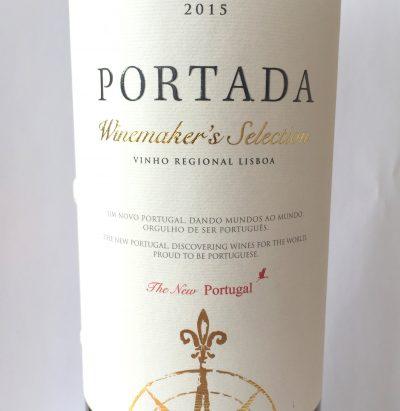 DFJ Vinhos Lisboa Portada Winemaker's Selection Red 2015