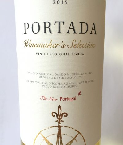 DFJ Vinhos Lisboa Portada Winemaker's Selection White 2015