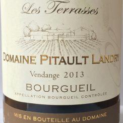 Domaine Pitault Landry Bourgueil Les Terrasses 2013