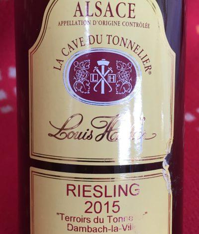 Famille Hauller Alsace Riesling Terroirs du Tonnelier 2015