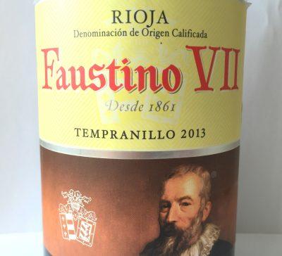 Faustino Rioja Faustino VII Tempranillo 2013