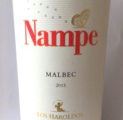 Los Haroldos Mendoza Nampe Malbec 2015