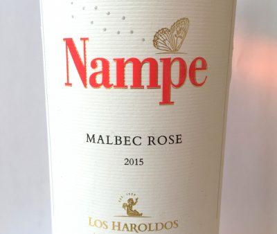 Los Haroldos Mendoza Nampe Malbec Rosé 2015