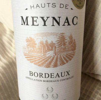 Maison Bouey Bordeaux Hauts de Meynac 2014