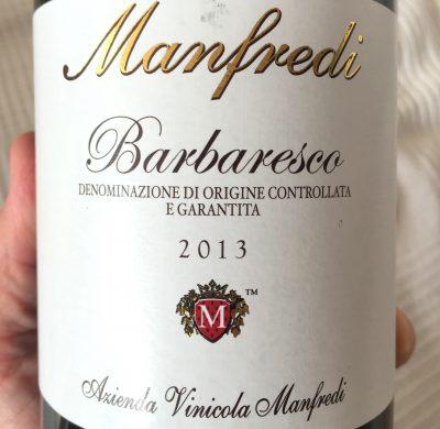 Manfredi Barbaresco 2013