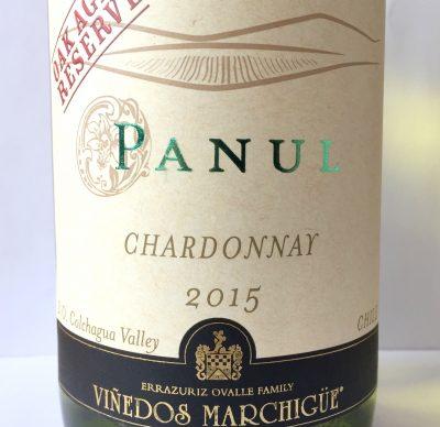Marchigüe Colchagua Panul Chardonnay Oak Aged Reserve 2015