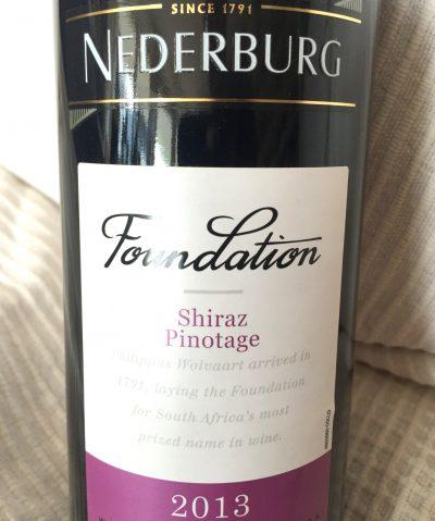 Nederburg Western Cape Foundation Shiraz Pinotage 2013