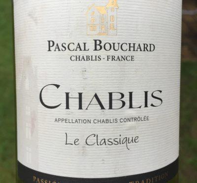 Pascal Bouchard Chablis Le Classique 2014