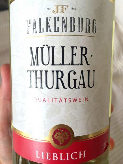 Peter Mertes Rheinhessen Falkenburg Müller-Thurgau lieblich 2015