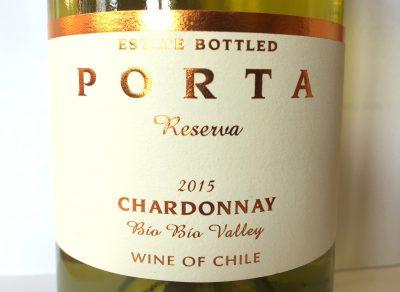 Porta Chardonnay Reserva 2015