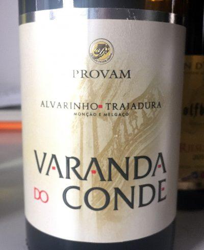 PROVAM Vinho Verde Alvarinho–Trajadura Varanda do Conde 2015